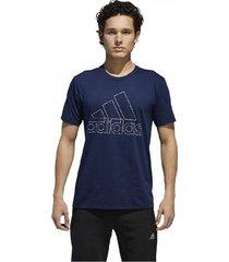 camiseta adidas bos tiny type dh9842 para hombre 100% original