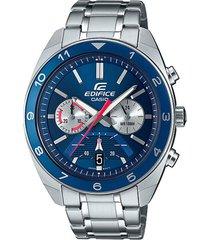 reloj casio efv-590d-2avudf plateado acero inoxidable