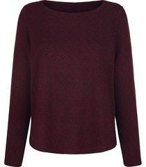 sweatshirt mona svart::röd