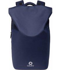 mochila de hombre. impermeable moda mochila hombres-azul