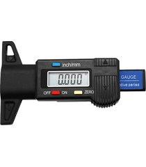 la profundidad de la banda de rodadura del neumático de coche digital tester 0-25 mm medidor indicador de profundidad de la banda de rodadura del neumático
