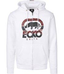 ecko unltd men's speed check full zip hoodie