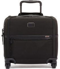 tumi alpha 3 collection compact 4-wheel laptop briefcase -