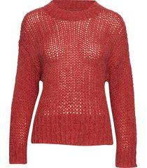tenley pu gebreide trui rood part two