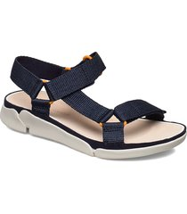 tri sporty shoes summer shoes flat sandals blå clarks