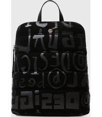 mochila arty negro desigual