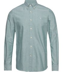 andré button down shirt overhemd business blauw morris