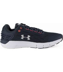 tenis negro under armour charged rogue gry