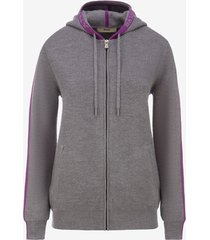 thermal wool hoodie grey 40