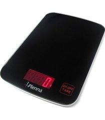 balança digital de cozinha 5kg plenna preta