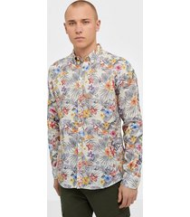 morris harvey button down shirt skjortor offwhite
