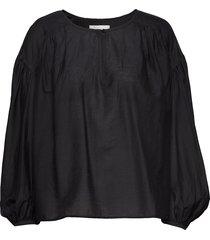 herdis blouse lange mouwen zwart fall winter spring summer
