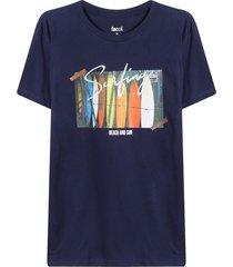 camiseta hombre surfing color azul,talla s