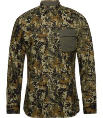 b.intl hex camo oshirt skjorta casual multi/mönstrad barbour