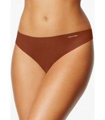 calvin klein women's invisibles thong underwear d3428