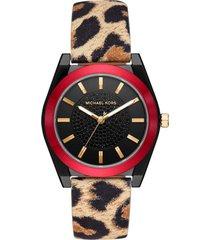 reloj fashion multicolor michael kors