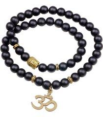 braccialetto con perline buddista