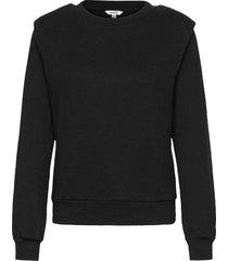 carlotta sweat-shirt tröja svart mbym