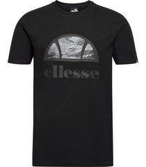 el alta via tee t-shirts short-sleeved svart ellesse