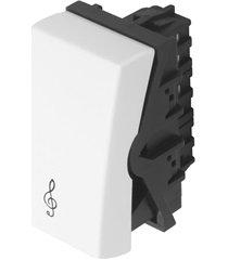 módulo campainha modulare 10a 250v branco