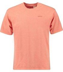 t-shirt vintage koraal roze