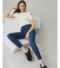 jean azul desiderata high legging cobalt
