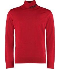 gcds wool blend turtleneck sweater