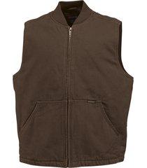 wolverine men's finley vest bison, size xxl