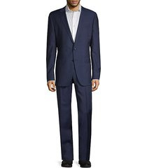 guabello slim-fit wool suit
