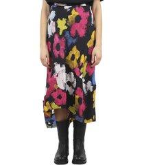 colville floral flounce skirt