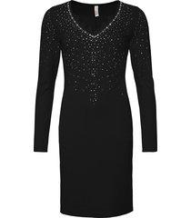 abito da sera con pietre (nero) - bodyflirt boutique