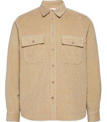 andrew 12w shirt skjorta casual beige wood wood