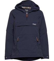 nordmarka w anorak outerwear jackets anoraks blå bergans