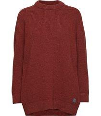 dorset stickad tröja röd brixtol textiles