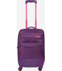 maleta de viaje pequeña con ruedas 360 para mujer usky