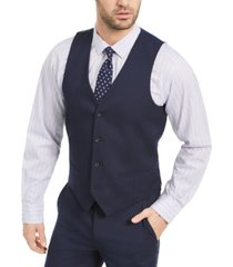 alfani men's slim-fit stretch solid suit vest, created for macy's