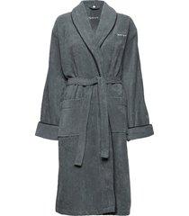 organic premium robe ochtendjas badjas grijs gant