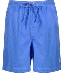 isabel marant classic swim shorts - blue