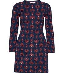 rodebjer ferko korte jurk blauw rodebjer