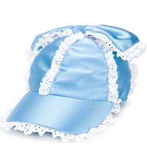 caroline bosmans fancy baseball cap - blue
