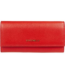 coccinelle logo continental wallet