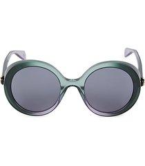 53mm round shield sunglasses