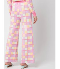 olivia rubin women's isobel trousers - battenberg - l