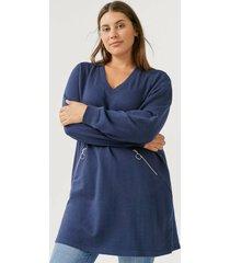 sweatshirtklänning amanda