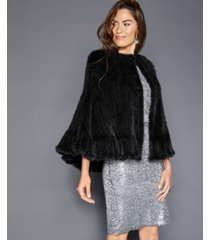 the fur vault mink fur cape