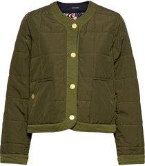 reversible special quilted jacket kviltad jacka grön scotch & soda