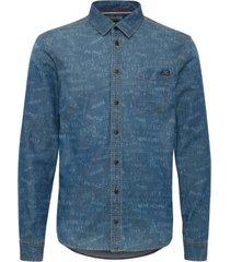 overhemd blend/blauw