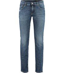 dolce & gabbana 5-pocket skinny jeans