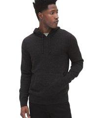 chaleco hoodie negro gap