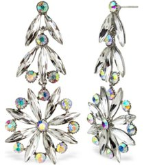 statement accessories retro stone statement earrings